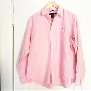 Ralph Lauren Pink Button Down